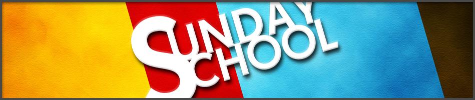 Sunday School Page Header